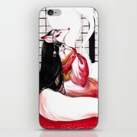 kitsune iPhone & iPod Skins featuring Kitsune by Aimee Steinberger