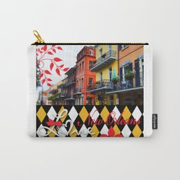 NEW ORLEANS:  LET THE GOOD TIMES ROLL!! Carry-All Pouch
