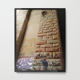 Keep Climbing Metal Print