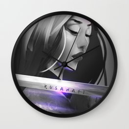 Kusanagi Wall Clock