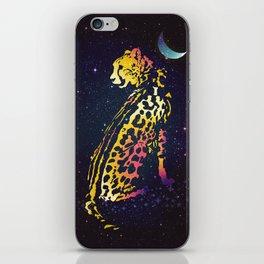 Space Leopard iPhone Skin