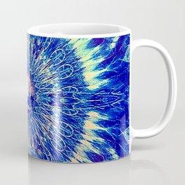 Dutch Windmill Colorful Geometry Pattern Coffee Mug