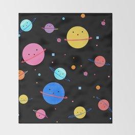 Hula Universe Throw Blanket