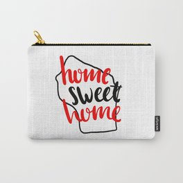 Home Sweet Home Wisconsin Carry-All Pouch