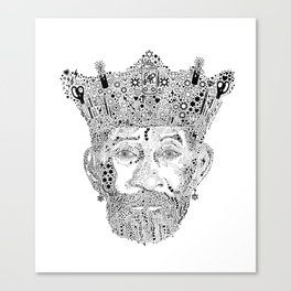 £ee $cratch Perry King of Arts Canvas Print