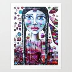 Galaxies Within Art Print