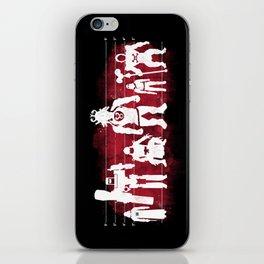 Plastic Villains  iPhone Skin