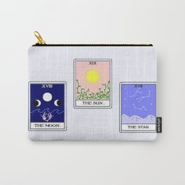 Trio of Tarot Carry-All Pouch