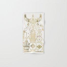 Santa Fe Garden – Gold Ink Hand & Bath Towel