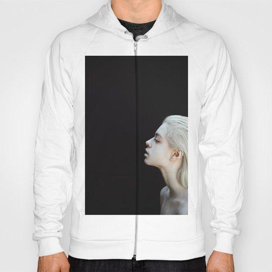 White and black Hoody