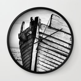 An old wreck Wall Clock