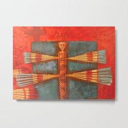 Santa Fe Painting Metal Print