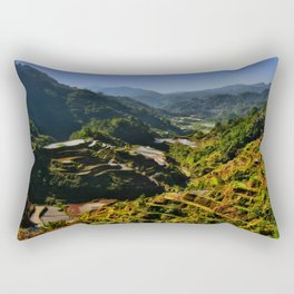 Philippinen - Reisterrassen von Banaue Rectangular Pillow