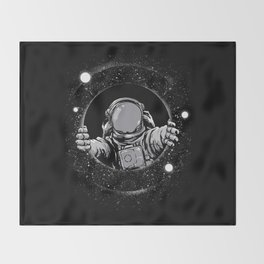 Black Hole Throw Blanket
