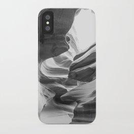 ANTELOPE CANYON XXIII (B+W) iPhone Case