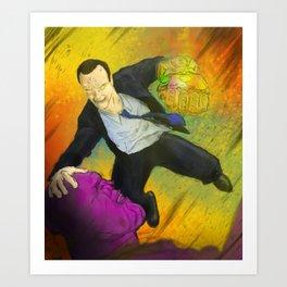 Infinity Coulson Art Print