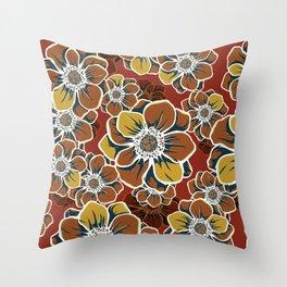 Mandala Flowers 7 Throw Pillow