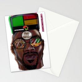 Kwanzaa King Stationery Cards