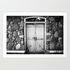 In the Cemetary Art Print