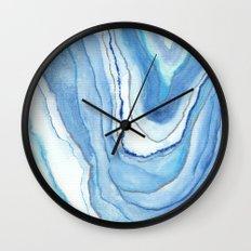 Agate Watercolor 12 Wall Clock