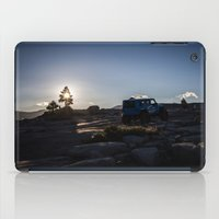 jeep iPad Cases featuring Sunrise Jeep Life by rspeir