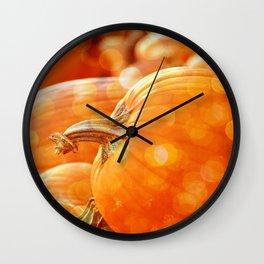 MAGICAL PUMPKINS Wall Clock