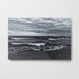 Winter Waves Metal Print