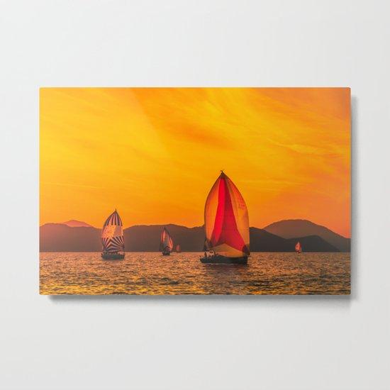 Solar wind Metal Print