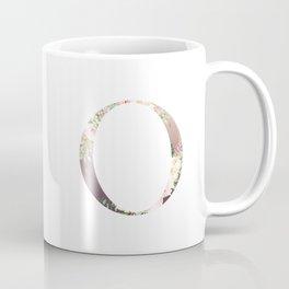 O - Floral Monogram Collection Coffee Mug