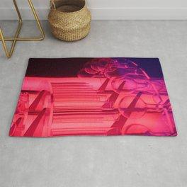Pink Glass Rug