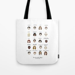 The Office Mood Chart Tote Bag