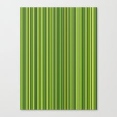 Many multicolored strips in the green sample Canvas Print