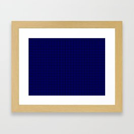 MacKay Tartan Framed Art Print
