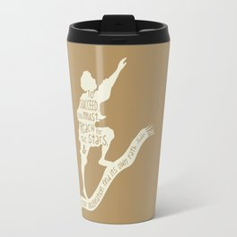 To Succeed you Must Reach for the Stars and Let you Imagination find its own Path - Aladdin Travel Mug