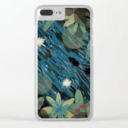 Jungle #3 Clear iPhone Case