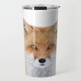 Fox Art Travel Mug