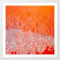 Ed Kerns : Orange  Art Print