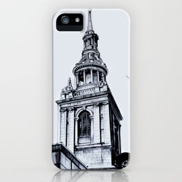 St. Mary-Le-Bow Church, London iPhone Case