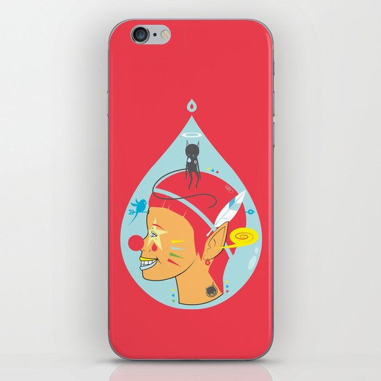 PRETENDED TO BE iPhone & iPod Skin