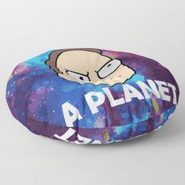 Jerry Loves Pluto Floor Pillow