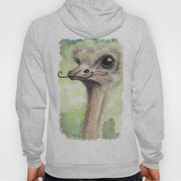 Ostrich 'Stache II Hoody