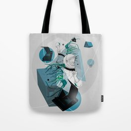 He Spoke On Space Research Tote Bag