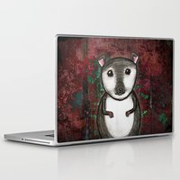 gemma correll Laptop & iPad Skins featuring Gemma the Gerbil by Studio 8107