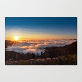 A Sea of Clouds Canvas Print