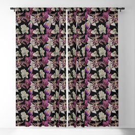 His Mother's Favorite Flower Blackout Curtain