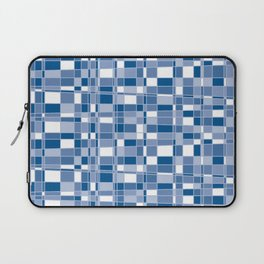 Mod Gingham - Blue Laptop Sleeve
