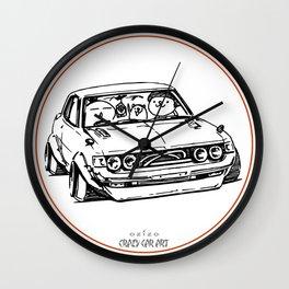 Crazy Car Art 0005 Wall Clock