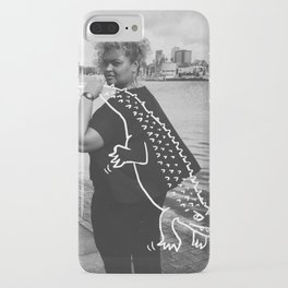 The Urban Crocodile Huntress iPhone Case