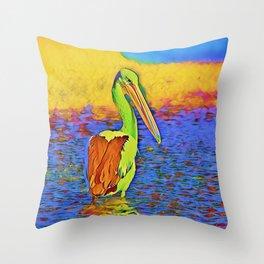 SmartMix Animal - Pelican Throw Pillow