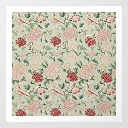 William Morris Cray Floral Pre-Raphaelite Vintage Art Nouveau Pattern Art Print